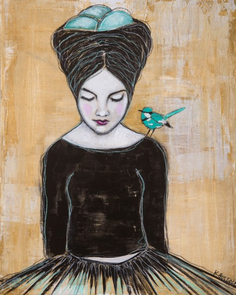 """Bluebird on My Shoulder"""
